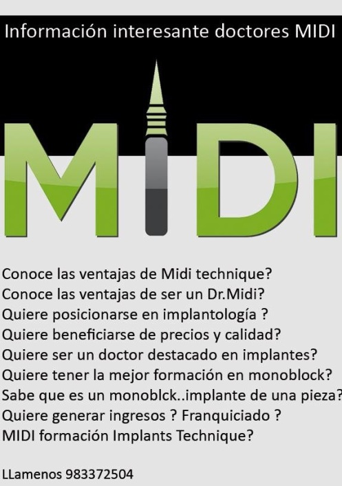 MIDI técnica implantes Dr.Rey
